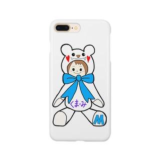 くまーみシリーズ Smartphone cases