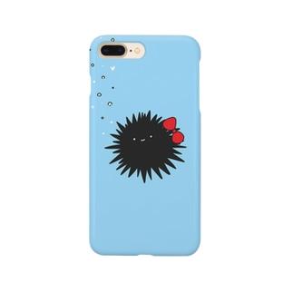 女子力の高いウニ Smartphone cases