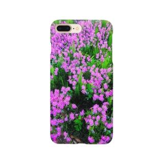花柄iPhoneケース Smartphone cases