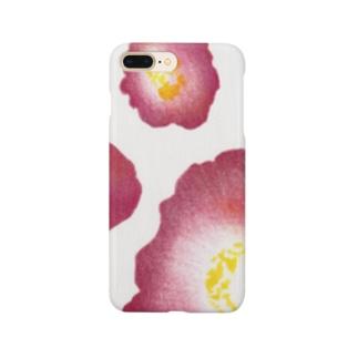 赤い椿 Smartphone cases