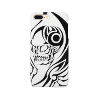 トライバル死神 Smartphone cases
