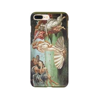 meiga-ボッティチェリ-ヴィーナスの誕生(スマホケース) Smartphone cases