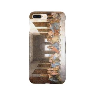 meiga-レオナルド・ダ・ヴィンチ-最後の晩餐(スマホケース) Smartphone cases