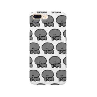 ぞうさんを増産ケース Smartphone cases
