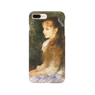 meiga-ルノアール-イレーヌ嬢(スマホケース) Smartphone cases