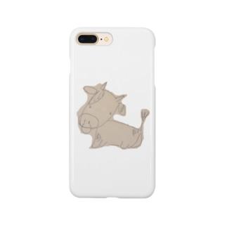 ヘタウシ Smartphone cases
