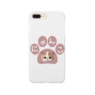 にゃんこ② Smartphone cases