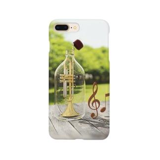 トランペット-01 Smartphone cases