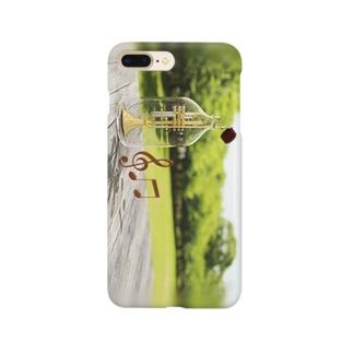 トランペット-02 Smartphone cases