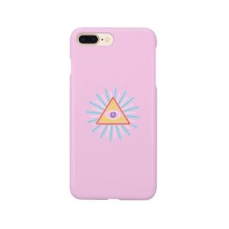 イルミナティ(ピンク) Smartphone cases