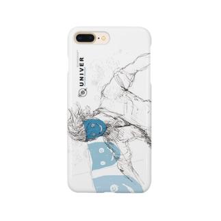 ムキムキのユニバー Smartphone cases