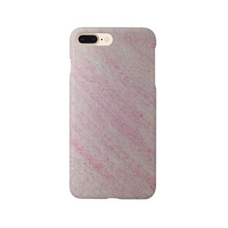 なごみのピンク Smartphone cases