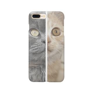 もくぞーてっこつ(ハーフ&ハーフ) Smartphone Case