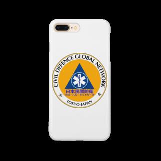 CDGN日本民間防衛グローバル・ネットワークの日本民間防衛民間防衛グローバル・ネットワーク Smartphone cases
