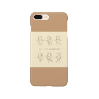 BAR LESSON PIGS:sketch two tone Smartphone cases