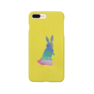 a piece of animation 夕空うさぎ iphoneケース002 Smartphone cases
