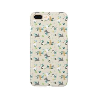 うさリバティ(立ち耳) Smartphone cases