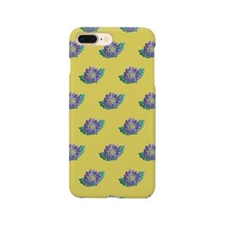 ミヤコワスレ Smartphone cases