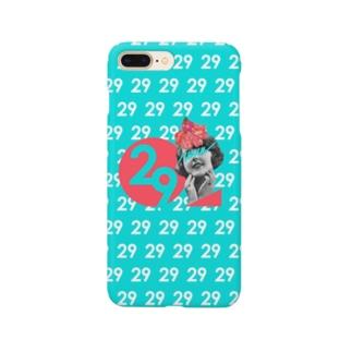 29[青緑] Smartphone cases