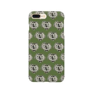 食いしん坊ねこ Smartphone cases