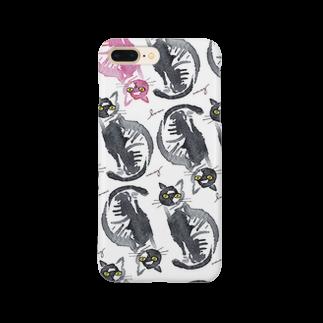 megumiillustrationのcats Smartphone cases