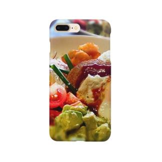 ハワイアンプレート Smartphone cases