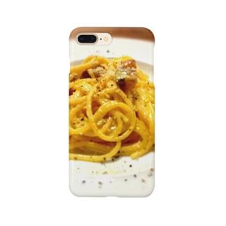 gashaのカルボナーラ Smartphone cases