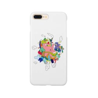 モクモクモク〜 Smartphone cases