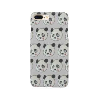 てへぺろパンダ Smartphone cases