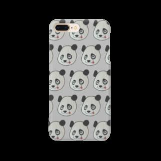 minasのてへぺろパンダ Smartphone cases