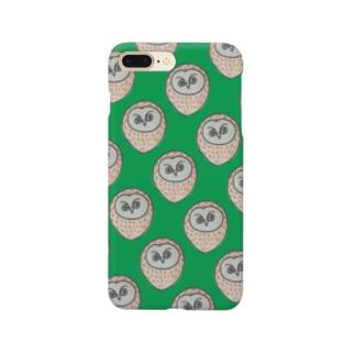 フクロウさん Smartphone cases