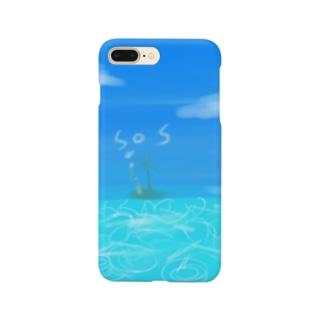 めっちゃ爽快な海 Smartphone cases