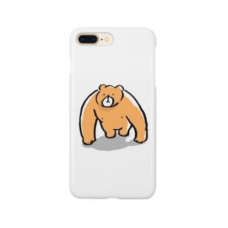 くま雄 Smartphone cases