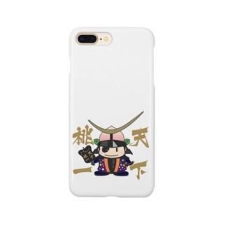 天下桃一@ふくしま Smartphone cases