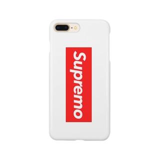 supremo red ver.2 Smartphone cases