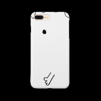 宮澤寿梨のじゅ印良品の『じゅじら』iPhoneケース Smartphone cases
