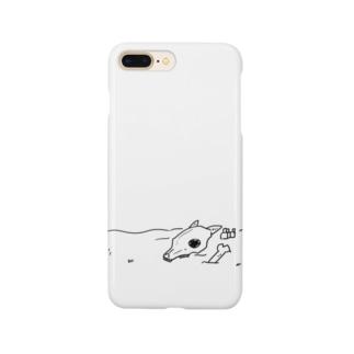 なんらかの骨 Smartphone cases