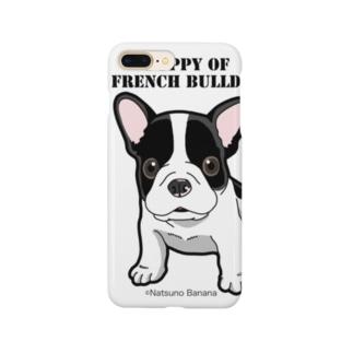 わんこ日和 フレンチブルドッグの仔犬 スマートフォンケース