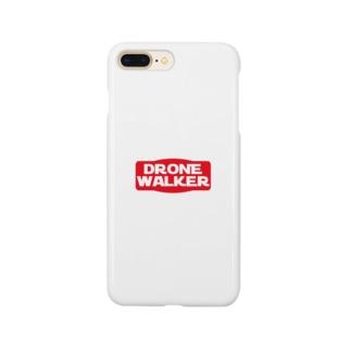DRONE WALKERロゴグッズ Smartphone cases
