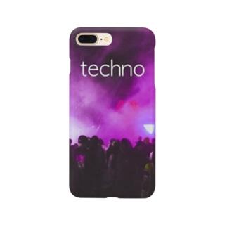 techno スマートフォンケース