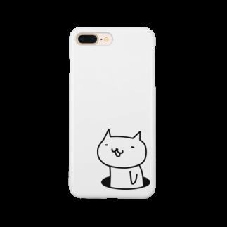 フロシキの穴ネコ スマートフォンケース