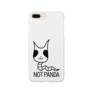 パンダじゃないです スマートフォンケース