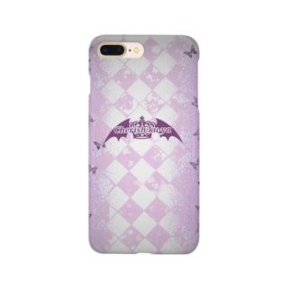 Cherish ロゴ Smartphone cases