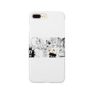 ぷりっ Smartphone cases