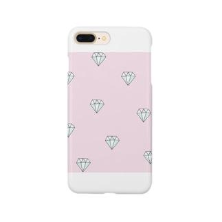ピンクダイヤモンド Smartphone cases