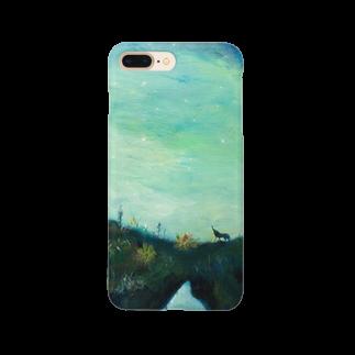 月ノ子の森に恋してのムラナギ/月光 Smartphone cases