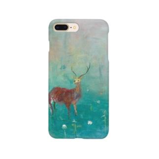 ムラナギ/花咲く森 Smartphone cases
