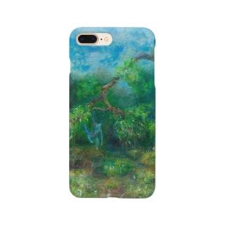 ムラナギ/マヨイの森の雨上がり スマートフォンケース