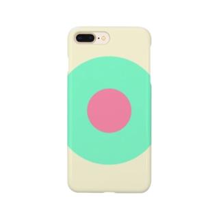 サークルa・クリーム・ペパーミント・ピンク2 Smartphone Case