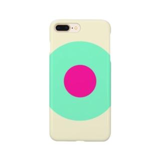 サークルa・クリーム・ペパーミント・ショッキングピンク2 Smartphone Case